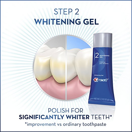 Crest dentes branqueamento polonês - Crest 3D white