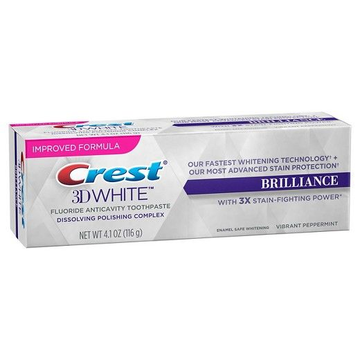 Crest Brilliance White creme dental