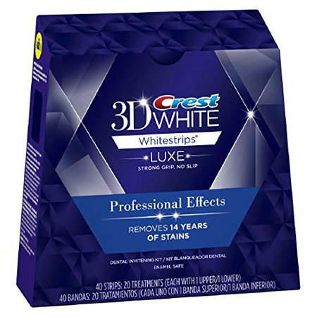 crest professional effects tiras de clareamento - crest whitestrips